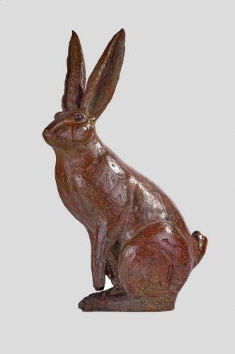 Lièvre bronze